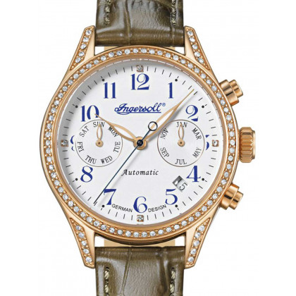 Ingersoll IN7401RWH Femmes Automatique 36mm 5ATM